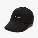 [피스메이커]PIECE MAKER - CLASSIC LOGO CAP (BLACK) 야구모자 볼캡