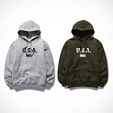[엑스엑스아이엑스] XXIX - USA - 기모 후드 - 8color