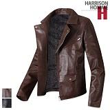 [해리슨] HARRISON 레자 이중 지퍼 자켓 PK1111