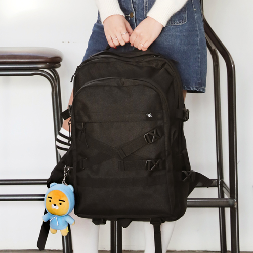 [단독판매][플레이플러스]PLAY PLUS - WINSTON BIG BACKPACK 새학기 신학기 윈스턴 빅 백팩 블랙 가방