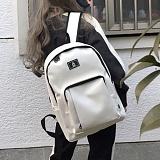 [복 EVENT][에이비로드]ABROAD - Classic Backpack 2 (white)  클래식2 새학기 백팩 신학기 가방