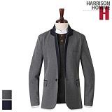 [해리슨] HARRISON 카라배색마이 PK1076