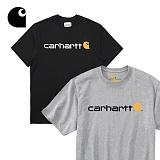[칼하트]CARHARTT - 칼하트 로고 반팔티 K195 정품