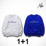 [1+1][엑스엑스아이엑스] XXIX - 왓 체인지 - 기모 맨투맨 - 6color
