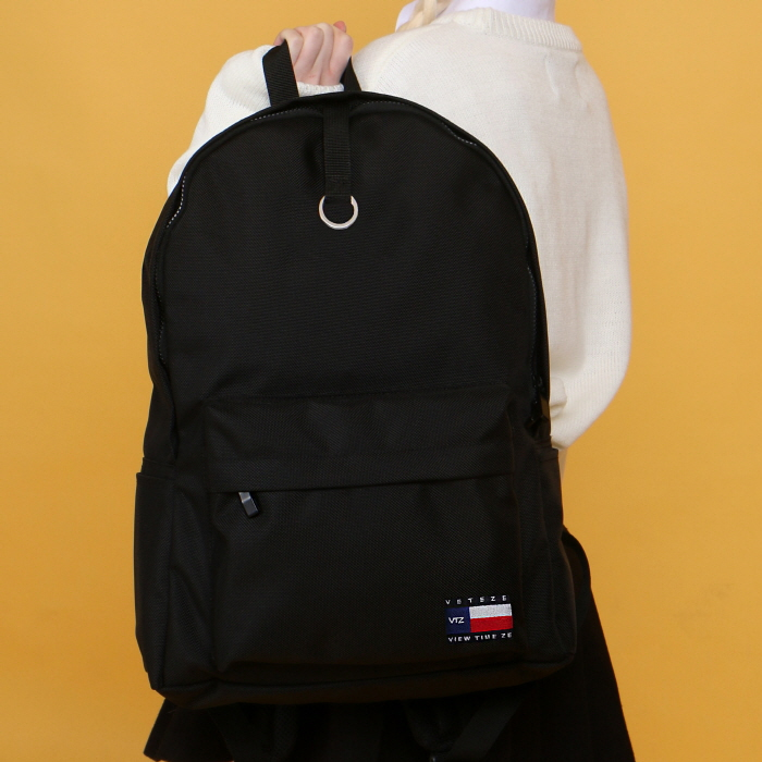 VETEZE - VTZ Flag bag(BK) 백팩