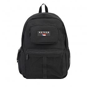 베테제 - Retro Sport Backpack (BK) 레트로 스포츠 메쉬 백팩 가방