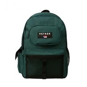 베테제 - Retro Sport Backpack (GN) 레트로 스포츠 메쉬 망사 백팩 가방