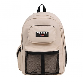 VETEZE - Retro Sport Backpack (BE) 가방 메쉬백팩