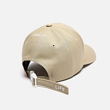 [피스메이커]PIECE MAKER - SENTAKU LIFE BACK CAP (DUSTY BEIGE)숏 스트랩 볼캡