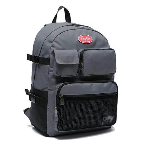 [데이라이프]DAYLIFE 멀티 포켓 백팩 (차콜) 메쉬 가방 학생백팩