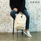 [제옥스]GEOX - CHI BACKPACK IVORY 카이백팩 아이보리
