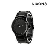 [닉슨]NIXON - Cannon Watch A160001-00 (All Black) 39.5mm 캐논 올블랙 블랙 메탈 시계 와치