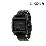 [닉슨]NIXON - Base Watch A1107001-00 (All Black) 38mm 베이스 전자시계  올블랙 블랙 메탈 시계 와치