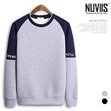 [뉴비스] NUVIIS - 네오프렌 판타스틱배색 맨투맨티셔츠 (RT129MT)