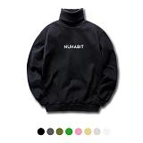 [뉴해빗] NUHABIT [N6NFM-05] - STANDARD LOGO 2 - 폴로넥 - 8color