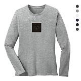 폴앤폴 - 뷰티플 라운드 긴팔 티셔츠 (남여공용)