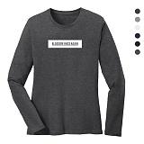 폴앤폴 - 어게인 라운드 긴팔 티셔츠 (남여공용)