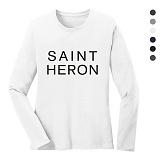 폴앤폴 - 세인트 라운드 긴팔 티셔츠 (남여공용)