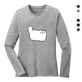 폴앤폴 - 뭉실 라운드 긴팔 티셔츠 (남여공용)