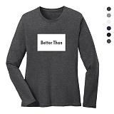 폴앤폴 - 베러덴 라운드 긴팔 티셔츠 (남여공용)