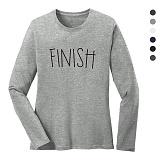 폴앤폴 - 피니쉬 라운드 긴팔 티셔츠 (남여공용)
