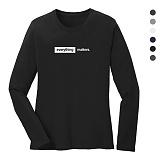 폴앤폴 - 에브리띵 라운드 긴팔 티셔츠 (남여공용)
