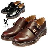 [에이벨류]543-g704 남성 더블 몽크스트랩 로퍼-3cm(블랙.브라운) 남자 그래고 704 신발 구두 캐주얼 정장 마틴창 단화