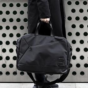 [몬스터리퍼블릭][구매후기 지갑증정] REQUIRE BOSTON BAG / BLACK 보스터백 토드백 크로스백