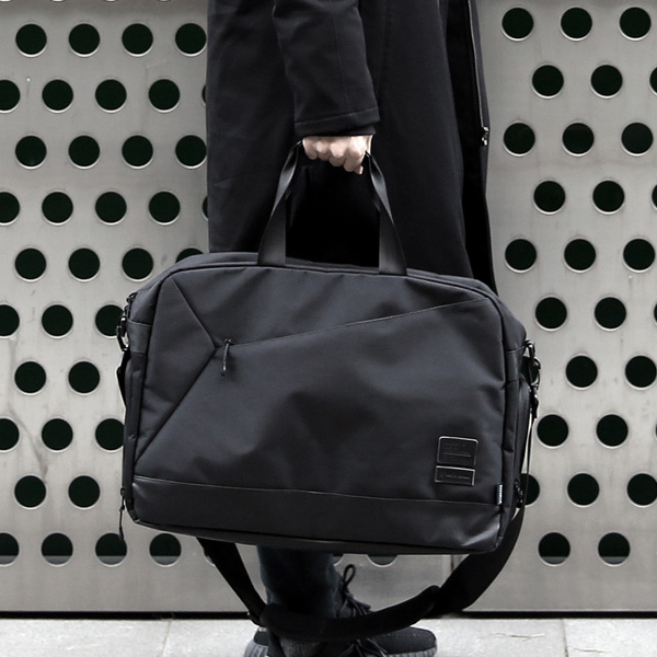 [사은품 증정/구매후기 지갑증정][몬스터리퍼블릭] REQUIRE BOSTON BAG / BLACK 보스터백 토드백 크로스백