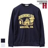 [해리슨] HARRISON 브루닝오일 맨투맨 NC1133