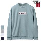[해리슨] HARRISON 메이비 패치 맨투맨 NC1130