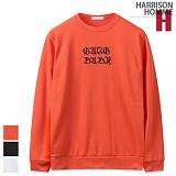 [해리슨] HARRISON 로마체 자수 맨투맨 NC1129