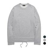 [특가할인]밴웍스 스트링 포인트 티셔츠 (VNAGTS003)_3colors 오버핏 쭈리 롱슬리브 맨투맨