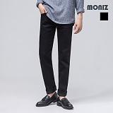 [모니즈]MONIZ 베이직 블랙 데님팬츠 PDN126