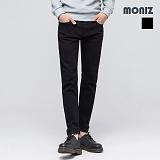 [모니즈]MONIZ 베이직 라인 블랙 데님팬츠 PDN151