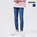 [모니즈]MONIZ 심플 워싱 데미지 청바지 PDN198