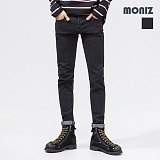 [모니즈]MONIZ 심플 베이직 블랙 데님팬츠 PDN200