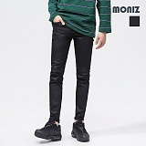 [모니즈]MONIZ 블랙 코팅 데님팬츠 PDN201