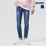 [모니즈]MONIZ 워싱 데미지 청바지 PDN204