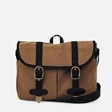[모노노] MONONO - Vintage Mail Bag - Wax Canvas Camel 크로스백 메일백