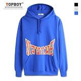 [탑보이] TOPBOY - 루즈핏 브로큰 후드티셔츠 (NW050)