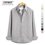 [탑보이] TOPBOY - 플레인 옥스포드 긴팔셔츠 (DO161)