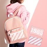 언브라운 - 1985 Three Concept Backpack (INDIPINK) 백팩 메쉬