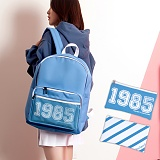 [언브라운] UNBROWN - 1985 Three Concept Backpack (SKYBLUE) 백팩 메쉬가방