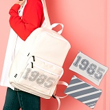 [언브라운] UNBROWN - 1985 Three Concept Backpack (IVORY) 백팩 메쉬가방