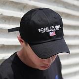 [본챔스] BORN CHAMPS LEGACY CAP BLACK CEPFMCA06BK 모자 볼캡 야구모자