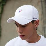 [본챔스] BORN CHAMS V SYMBOL CAP WHITE CEPFMCA05WH 모자 볼캡 야구모자
