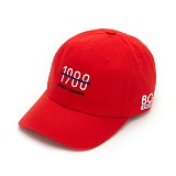 [본챔스] BORN CHAMS BC 1988 BALL CAP RED CEPFMCA04RE  모자 볼캡 야구모자