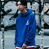 [본챔스] BORN CHAMPS LAYERD AND SLIT HOOD BLUE CEPDMHD04BL 후디 후드티