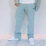 [본챔스] BORN CHAMPS PINTUCK TRAINING PANTS GRAY CEPDMTP01GY 긴바지 트레이닝바지